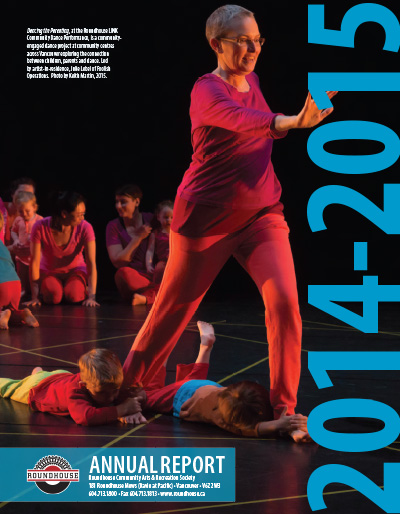 Roundhouse Annual Report & AGM 2014-15