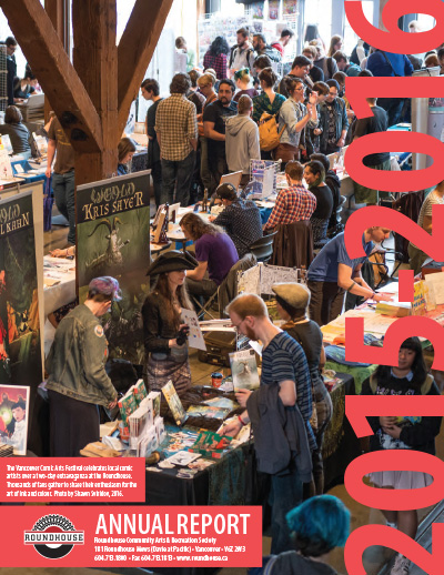 Roundhouse Annual Report & AGM 2015-16