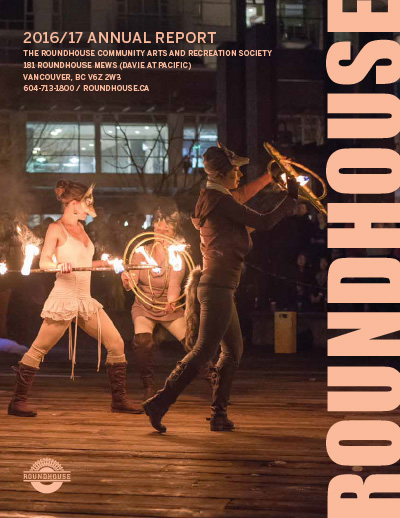 Roundhouse Annual Report & AGM 2016-17